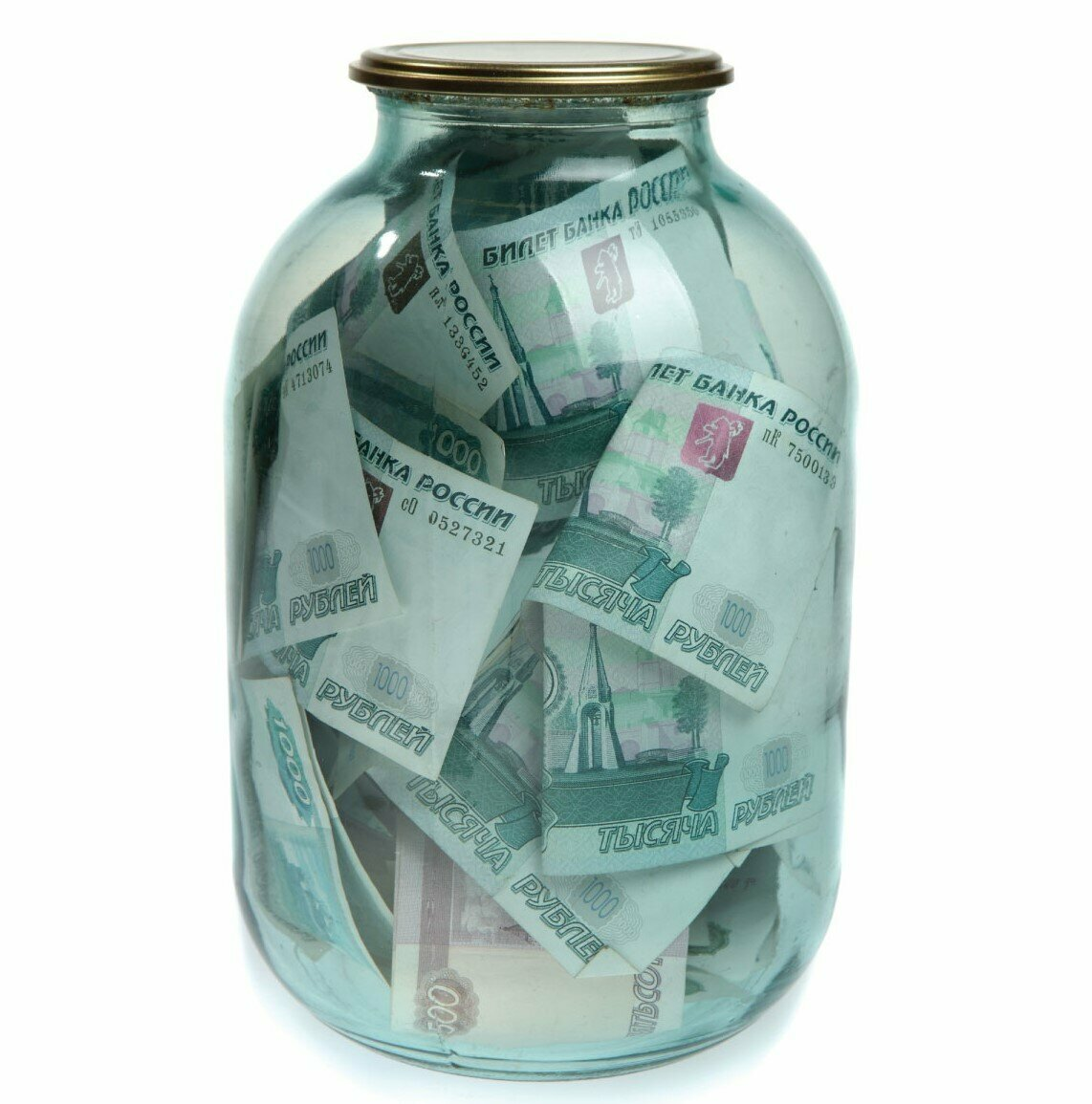 У омской пенсионерки из стеклянной банки украли 120 тысяч #Омск #Общество #Сегодня
