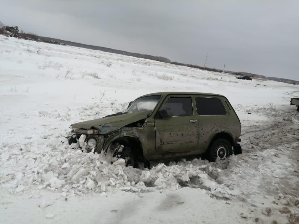 Пьяный водитель устроил серьезное ДТП в Омской области #Омск #Общество #Сегодня