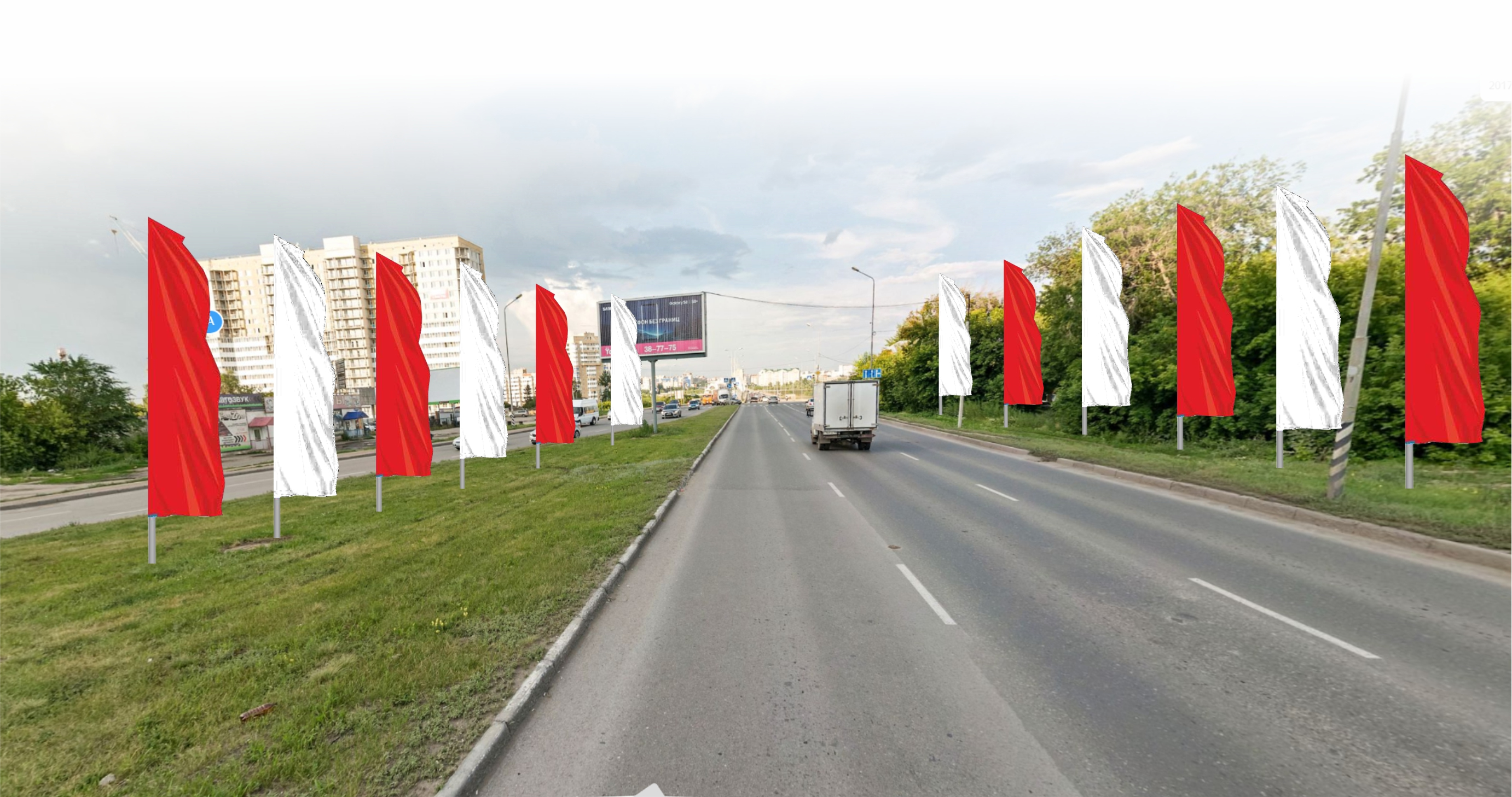 На украшение Омска ко Дню Победы готовы потратить полмиллиона #Омск #Общество #Сегодня