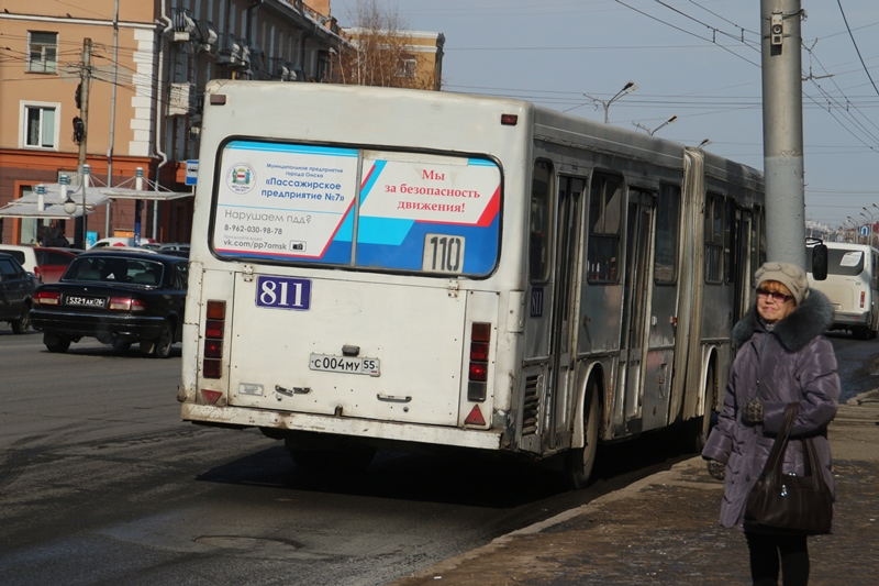 Омского водителя, умершего за рулем 110-го автобуса, похоронили за счет ПП № 8 #Омск #Общество #Сегодня