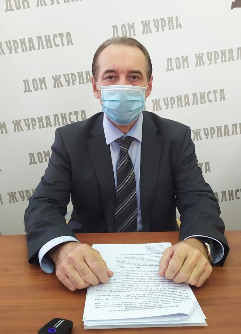 Крига настаивает, чтобы омичи и дальше ходили в масках #Омск #Общество #Сегодня