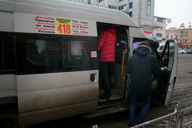 В Омске хотят убрать маршрутки с центральных улиц #Новости #Общество #Омск