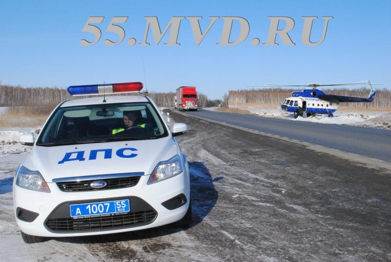 Пьяный омич на «Ниве» застрял в сугробе и не смог уехать от полицейских #Омск #Общество #Сегодня