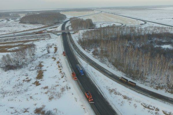 Дорогу из Омской области в Казахстан открыли #Новости #Общество #Омск