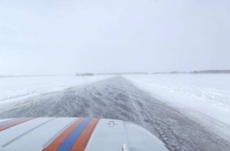 Из-за метели в Казахстане перекрыли дорогу в Омскую область #Омск #Общество #Сегодня