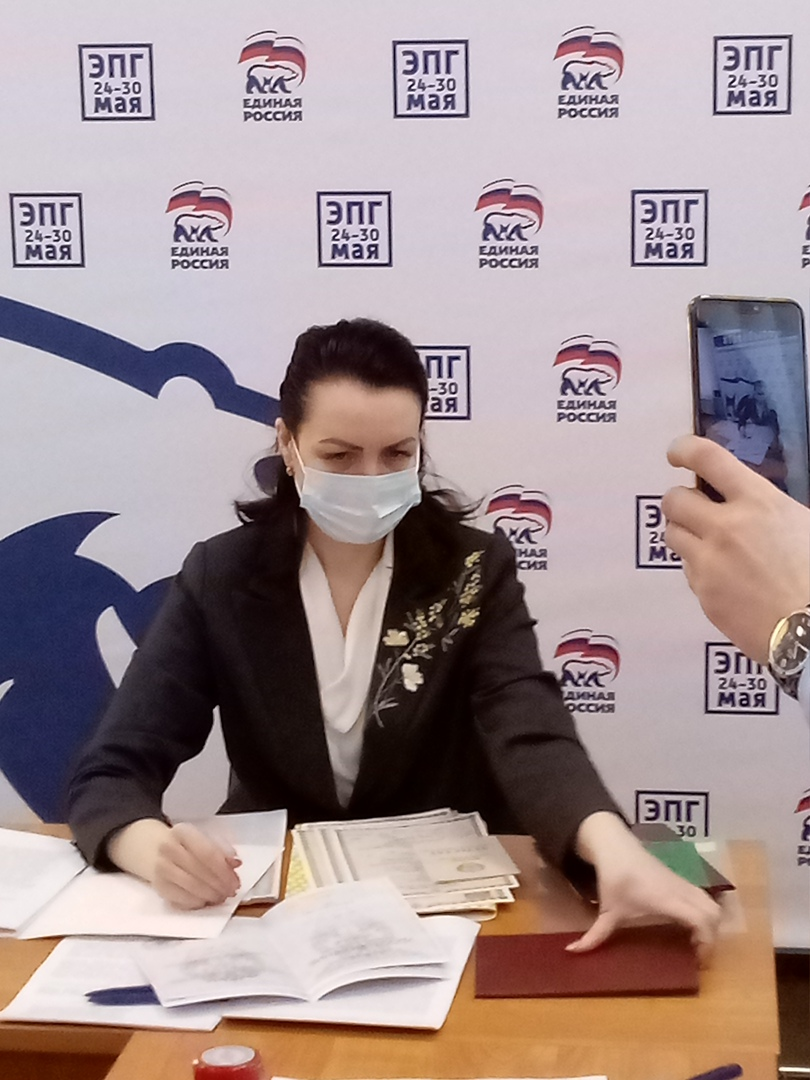 Фадина объяснила, зачем идет на выборы в Госдуму #Новости #Общество #Омск