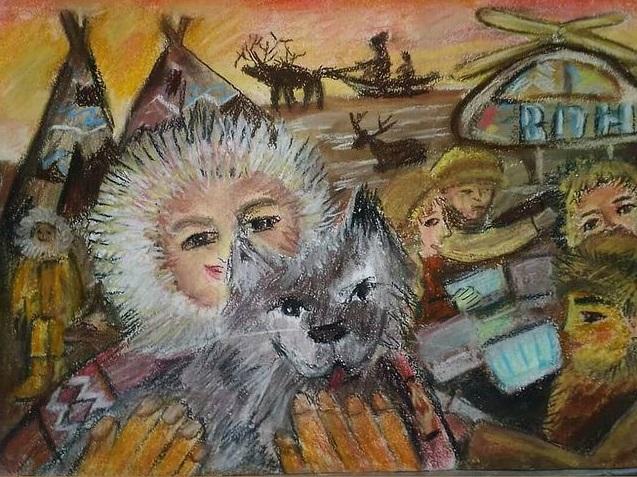 Юный омич выиграл 25 тысяч за лучший рисунок о переписи #Новости #Общество #Омск