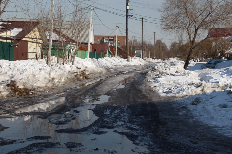 Уже на следующей неделе Омск «поплывет» #Омск #Общество #Сегодня