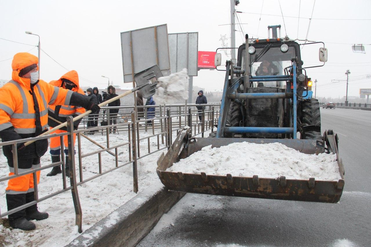 Снег в Омске полностью растает к 19 апреля #Новости #Общество #Омск