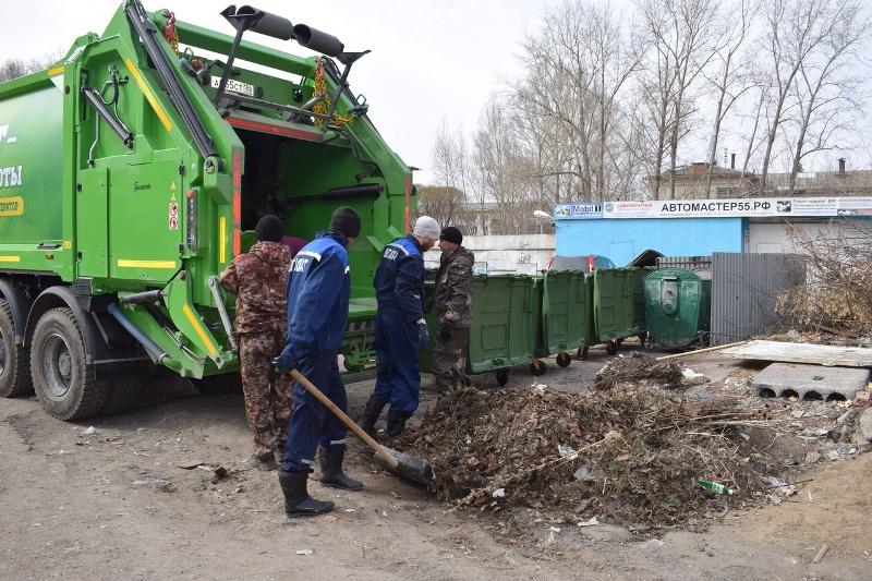 Омские компании не хотят платить за мусор #Омск #Общество #Сегодня