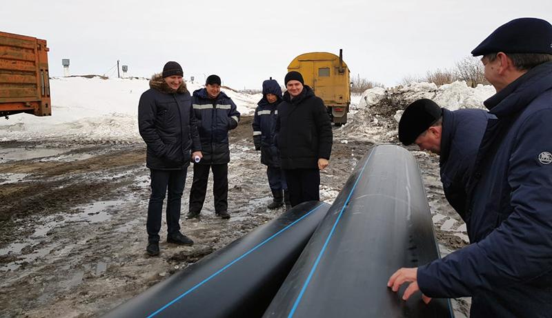 В Омской области начался ремонт магистральных водопроводов