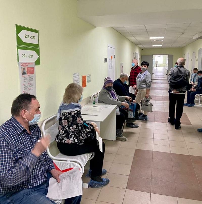 Жители Левобережья могут привиться от ковида в новой поликлинике #Омск #Общество #Сегодня