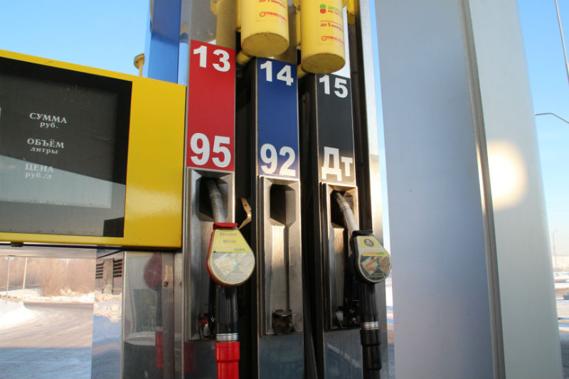 В Омской области газ для автомобилей за месяц подорожал на 3 рубля #Новости #Общество #Омск
