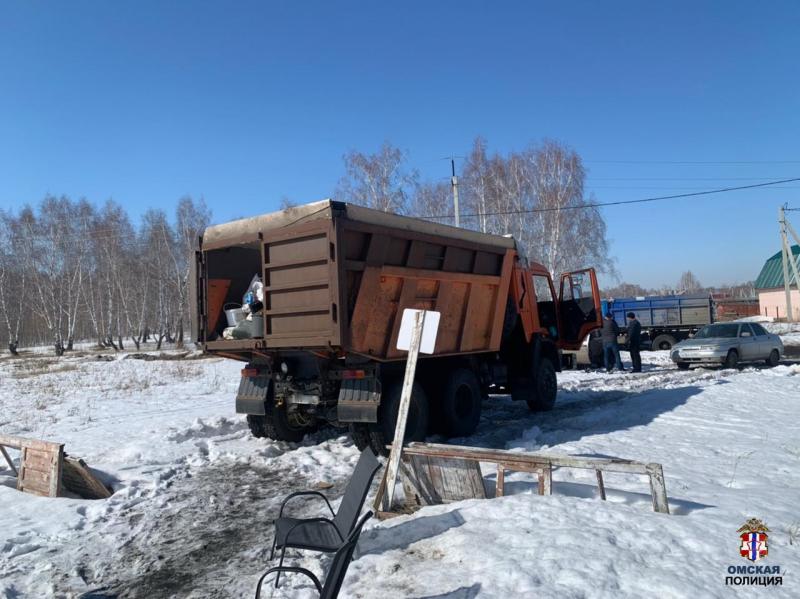 У дачных воров в Омске нашли целый КамАЗ украденных вещей #Новости #Общество #Омск