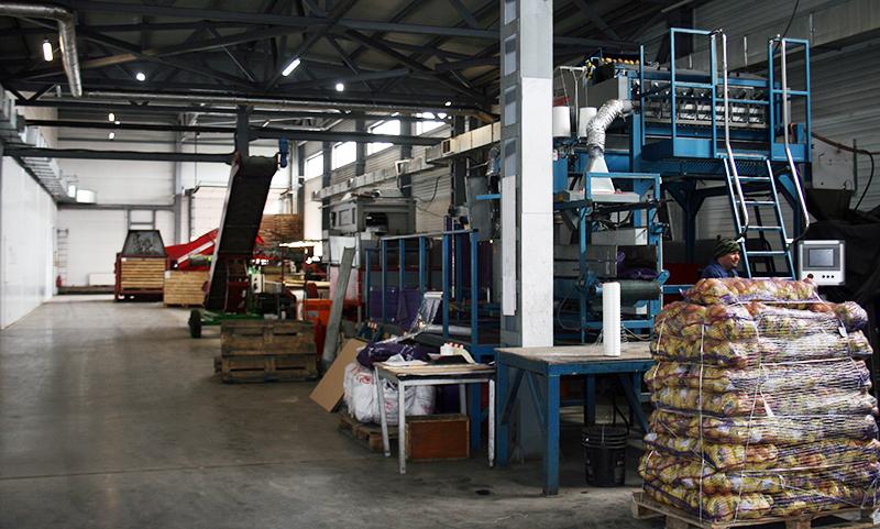 Глава Омского района оценил крупнейшее в регионе картофелехранилище #Новости #Общество #Омск