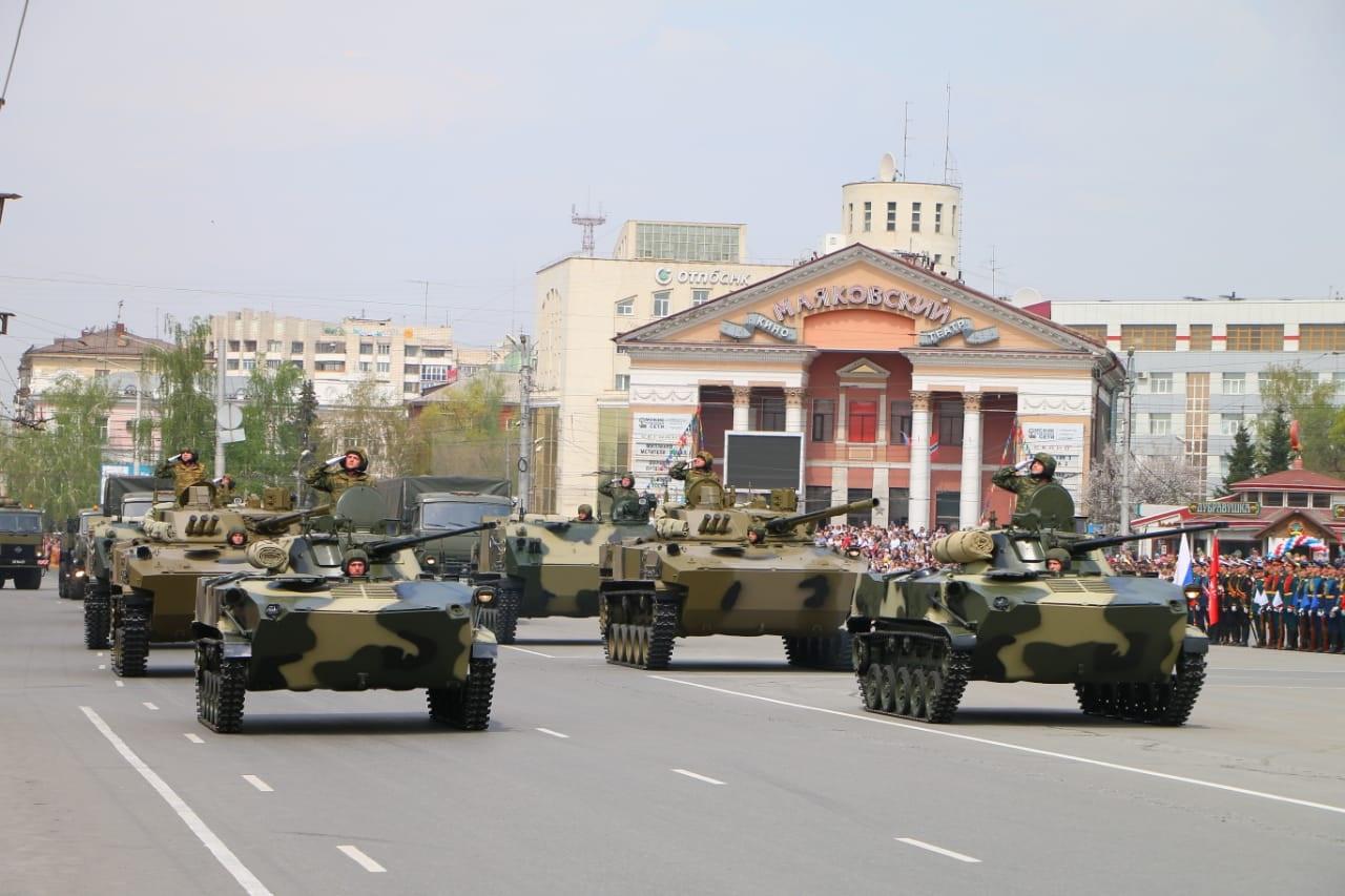 Парад на 9 Мая в Омске будет масштабным #Омск #Общество #Сегодня