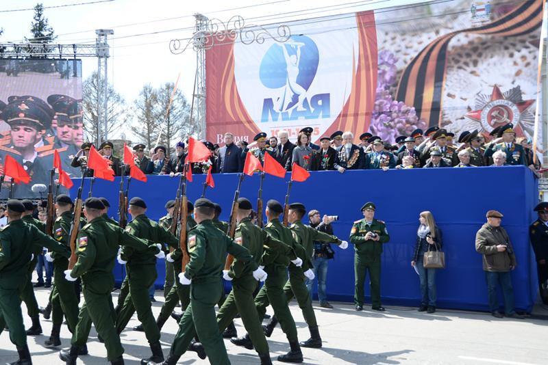 В День Победы в Омске состоится парад со зрителями #Омск #Общество #Сегодня