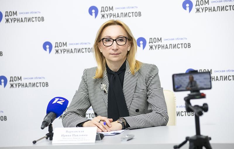 Ирина ВАРНАВСКАЯ: «Социальный контракт – это не «рыба», а «удочка» #Омск #Общество #Сегодня