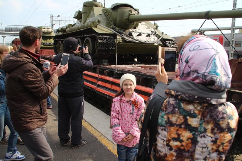 В Омск прибудет пропагандистский поезд с техникой времен Великой Отечественной войны #Новости #Общество #Омск