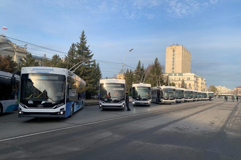 В омских троллейбусах «Адмирал» включили кондиционеры #Новости #Общество #Омск