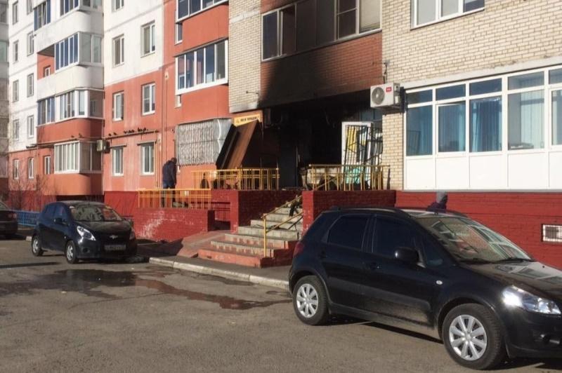 В Омске сожгли офис управляющей компании #Новости #Общество #Омск