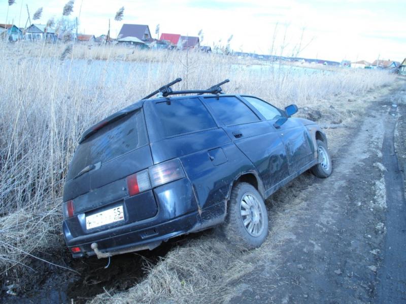 Пьяный житель Омской области сбил на угнанной машине девочку и улетел в кювет #Новости #Общество #Омск