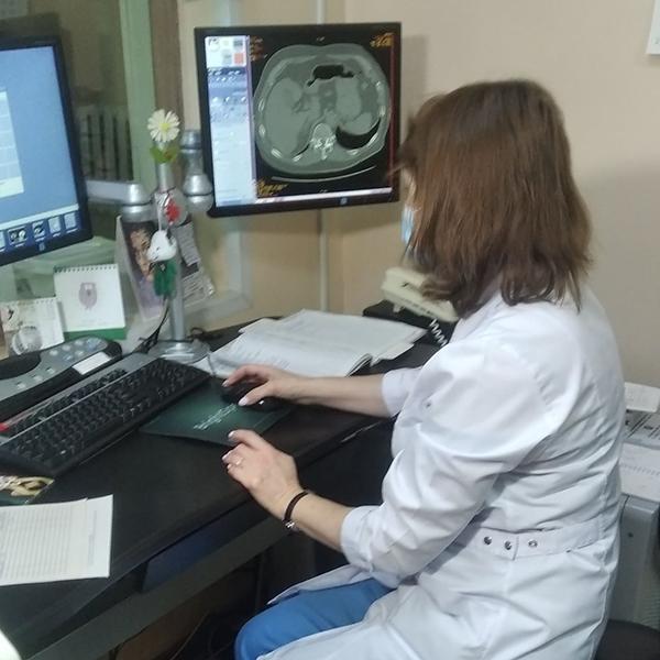 Омские медики используют при диагностике пневмонии искусственный интеллект Сбера #Омск #Общество #Сегодня