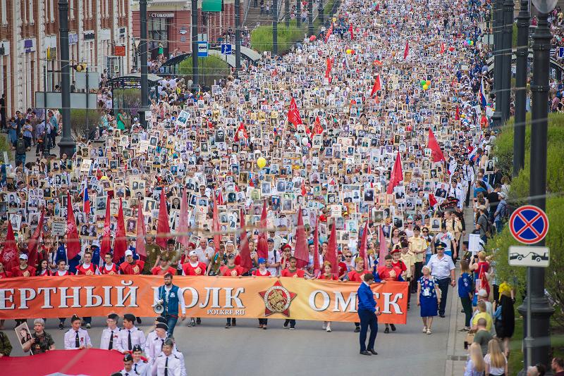 Шествие «Бессмертного полка» в Омске может пройти 24 июня #Новости #Общество #Омск