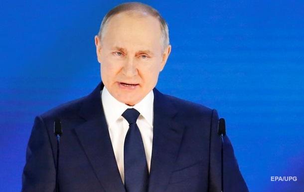 """Путин пообещал """"ассиметричный ответ"""" тем, кто плохо скажет про Россию"""