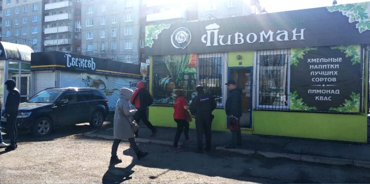В Омске снесли сразу два киоска, где продавали пиво #Новости #Общество #Омск