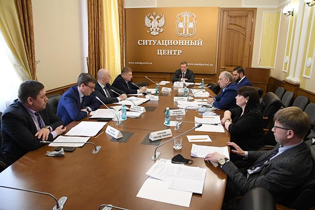 Бурков обсудил коррупцию в омском правительстве #Омск #Общество #Сегодня