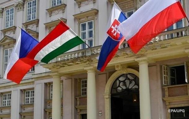 Вышеградская группа поддержала Чехию и осудила РФ