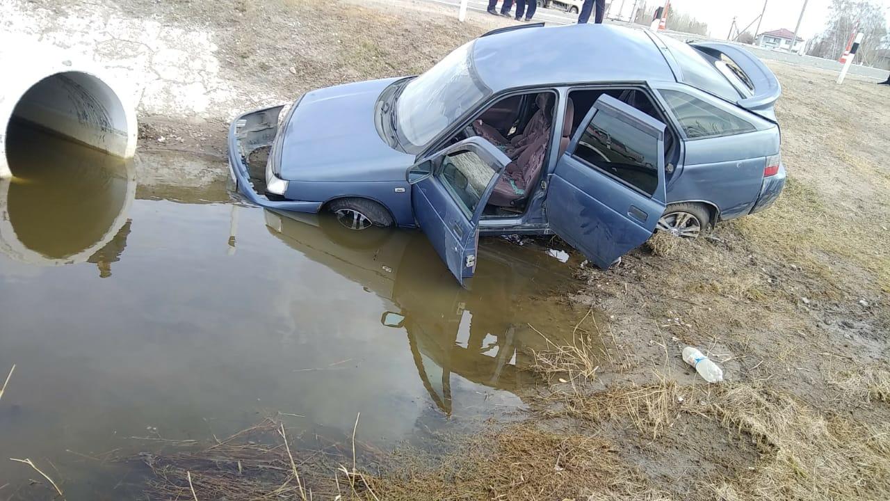 На трассе под Омском произошла авария с шестью пострадавшими #Омск #Общество #Сегодня