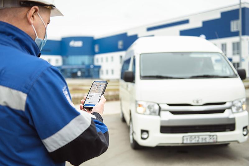 Управление служебным транспортом Омского НПЗ доверили цифровой системе