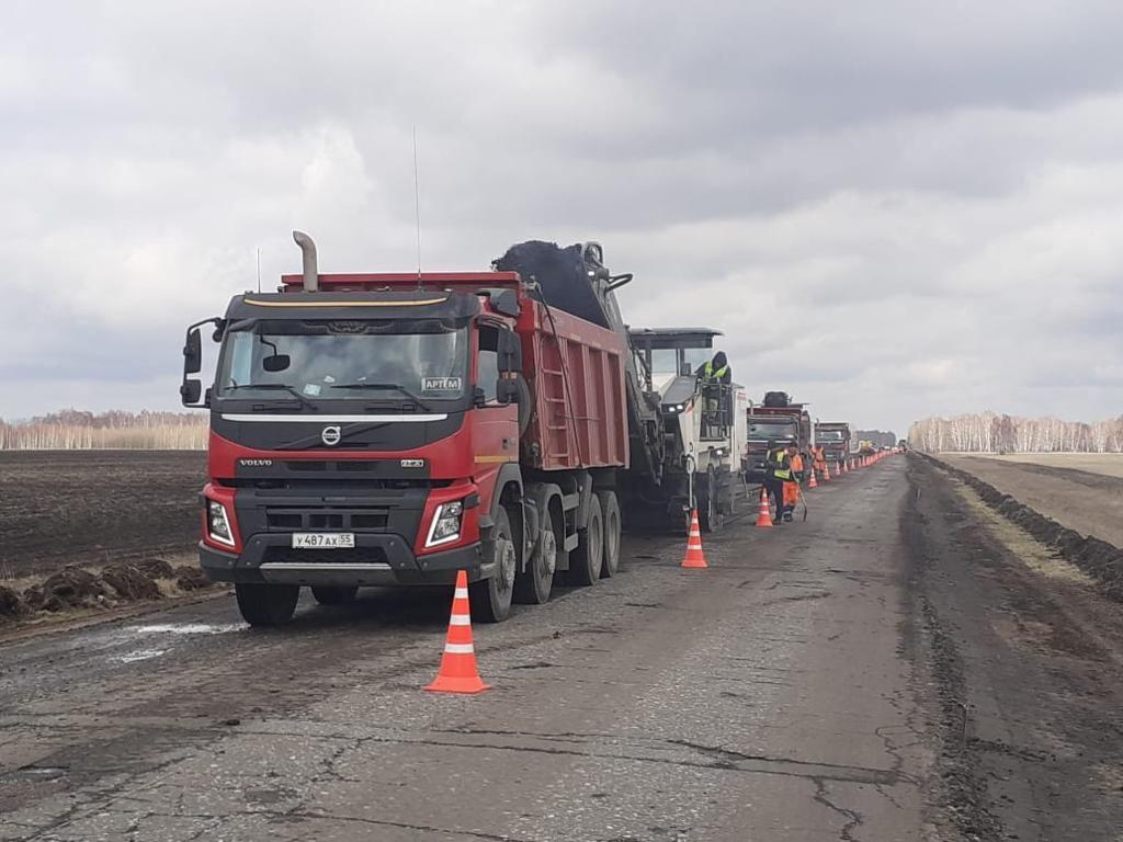 В Омской области дополнительно отремонтируют 44 км трасс #Новости #Общество #Омск