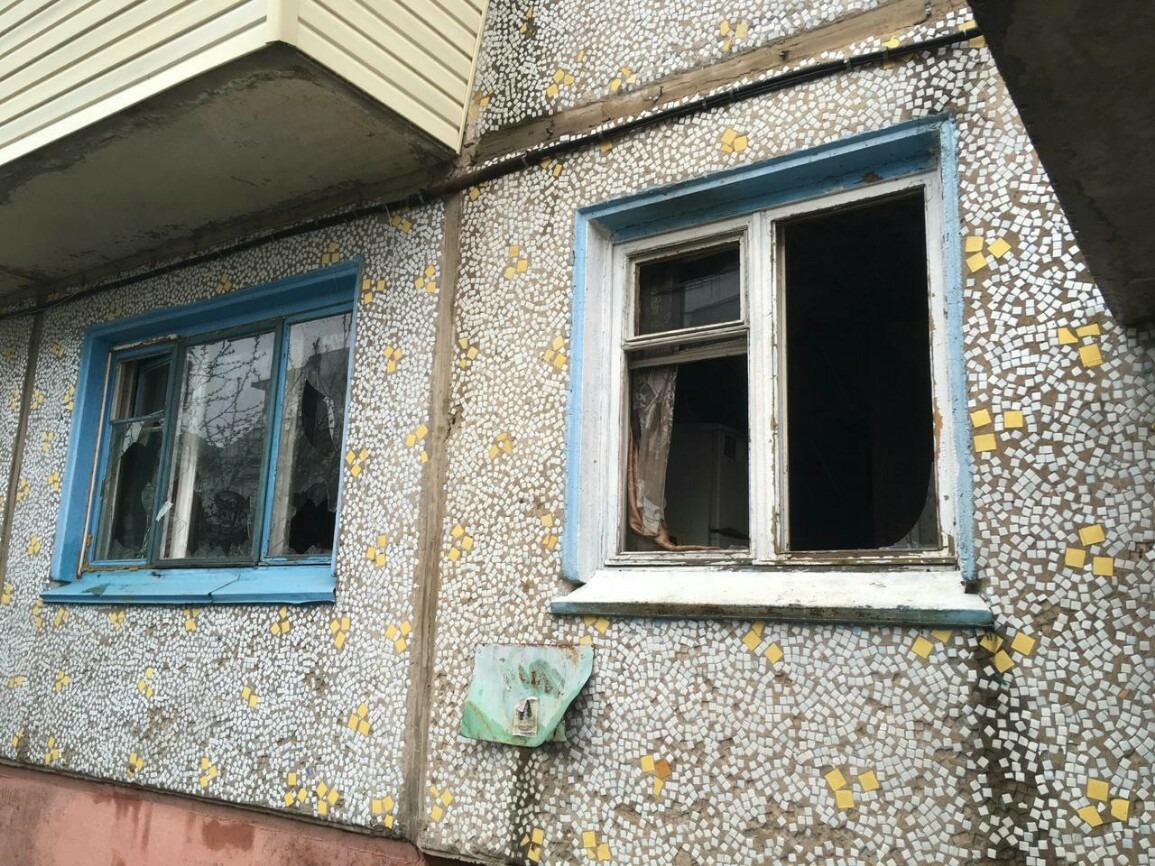 В пожаре под Омском пострадали двое маленьких детей и их мать #Омск #Общество #Сегодня