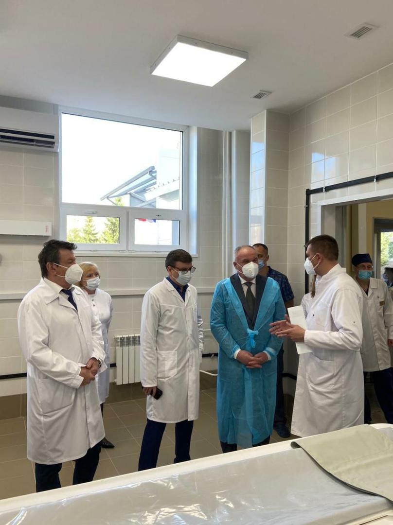 В омской больнице за 40 млн отремонтировали приемное отделение #Омск #Общество #Сегодня