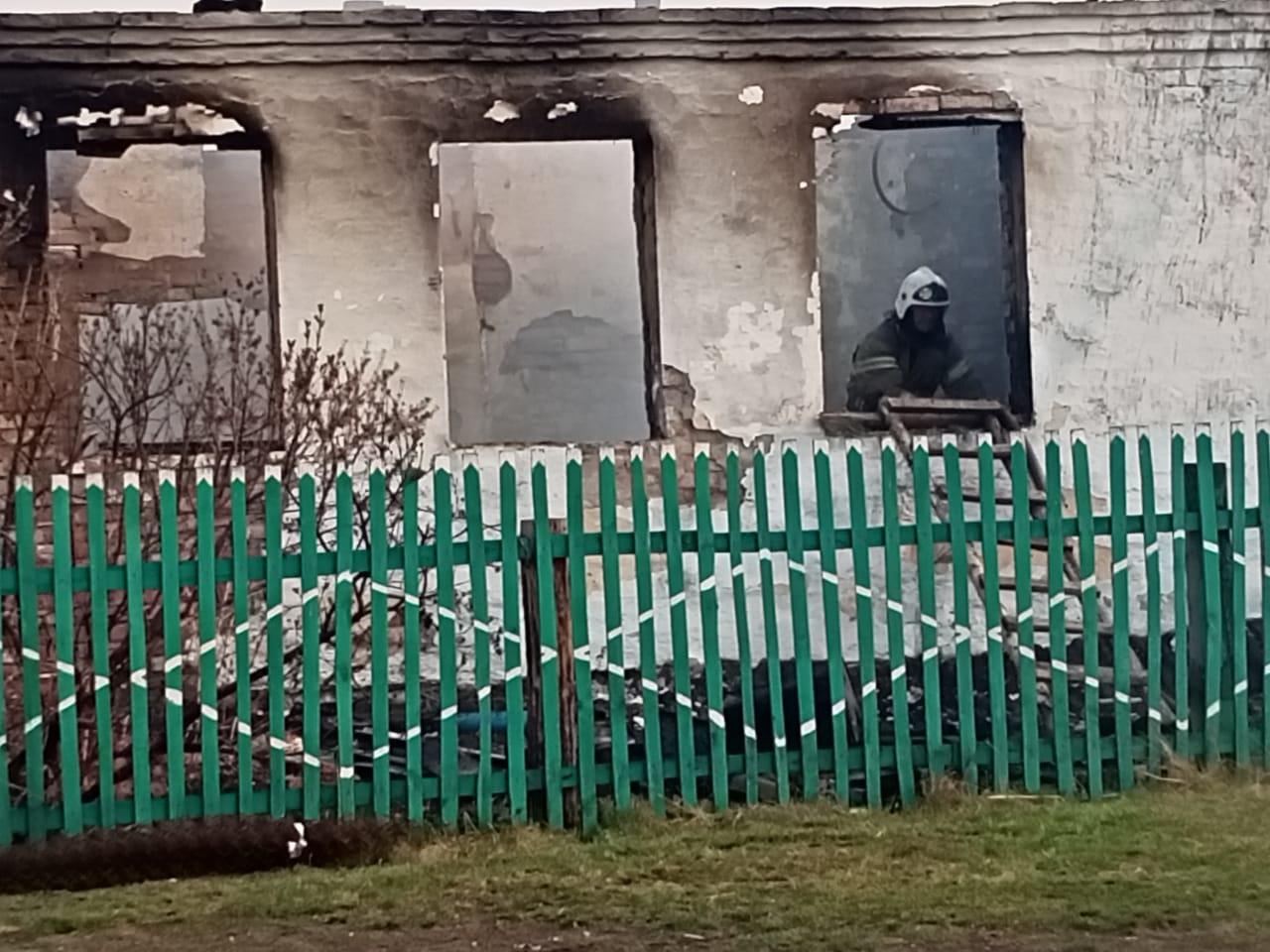 В Омской области сгорела половина деревни #Новости #Общество #Омск