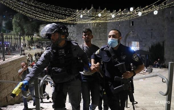 В Восточном Иерусалиме снова вспыхнули беспорядки