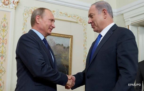 Нетаньяху сообщил Путину о контактах с Украиной