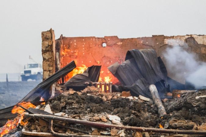 Омские татары организовали сбор помощи жителям сгоревшей дотла деревни #Новости #Общество #Омск