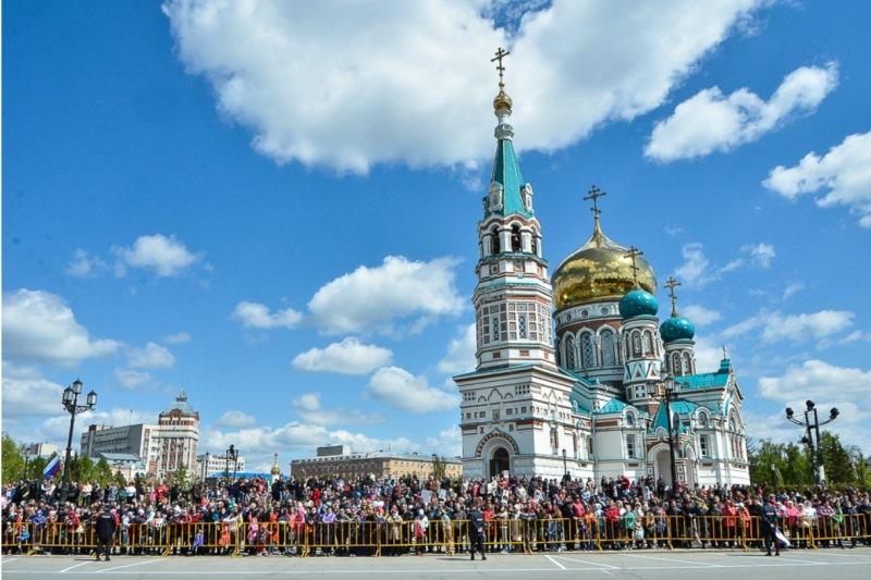 В День Победы в Омске будет тепло, солнечно и ветрено #Новости #Общество #Омск
