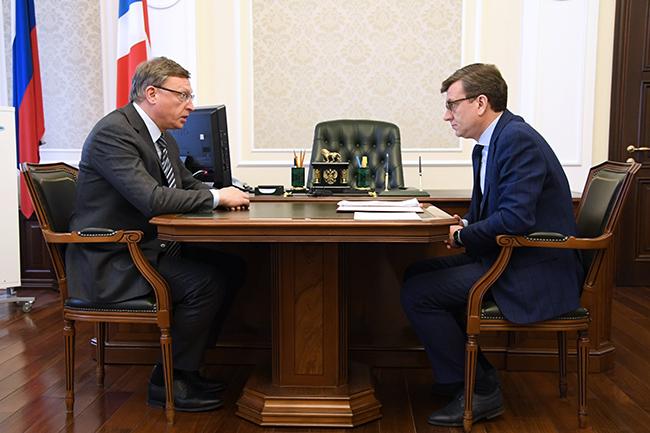 Бурков поблагодарил всех, кто искал в тайге министра Мураховского #Омск #Общество #Сегодня