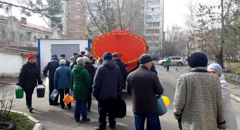 Жители 16 многоэтажек Омска в жару останутся без холодной воды #Омск #Общество #Сегодня