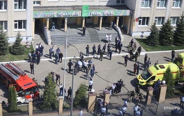 Стрельба в Казани: стрелок поджег свою квартиру