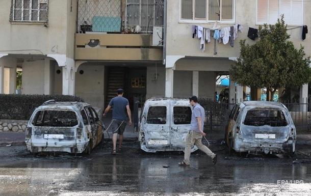 При обстреле Израиля пострадали 200 человек