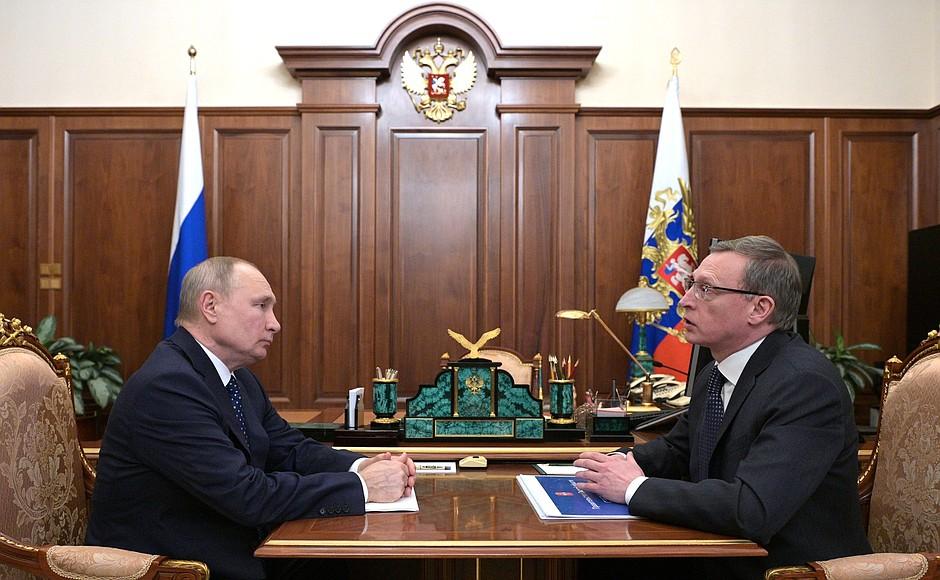 Бурков наконец-то встретился с Путиным #Новости #Общество #Омск