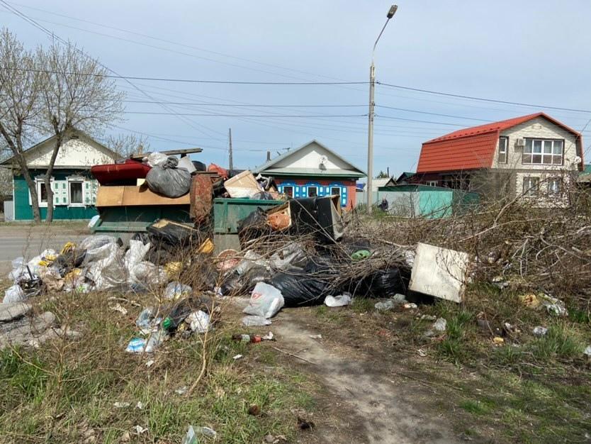 Мэрия признала, что Омск завален мусором после субботников #Омск #Общество #Сегодня