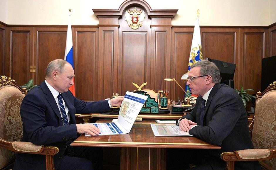 Область уверяет, что Бурков и Путин встречались именно вчера #Новости #Общество #Омск