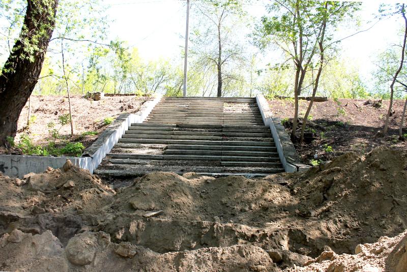 Как в Омске благоустроят парк «Зеленый остров»: площадка для белок, газоны и 20 велопарковок #Новости #Общество #Омск